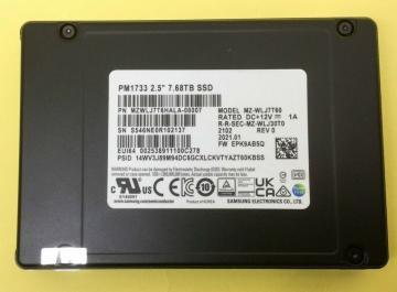 MZWLJ15THALA-00007 Ổ cứng SSD 15.36TB Samsung PM1733 2.5 NVMe PCIe4 x4