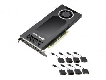 NVIDIA Quadro NVS 810 4GB DDR3 (8x DVI)