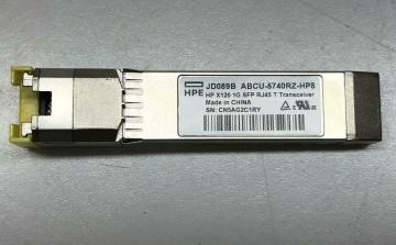 HPE X120 1G SFP RJ45 T Transceiver - JD089B