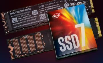 Ổ cứng 256GB Intel SSD Pro 7600p M.2 80mm, PCIe 3.0 x4, 3D2, TLC