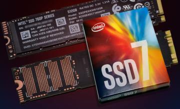 Ổ cứng 512GB Intel SSD Pro 7600p M.2 80mm, PCIe 3.0 x4, 3D2, TLC