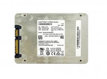 Ổ cứng 80GB Intel SSD E 5400s Series 2.5in SATA 6Gb/s, 16nm, TLC