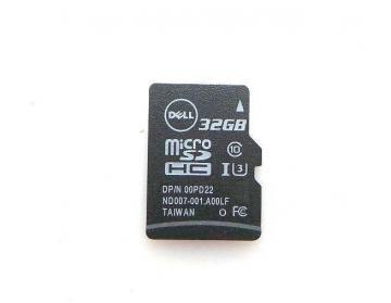 Thẻ nhớ Dell 32GB microSDHC/SDXC Card Secure Digital 0PD22