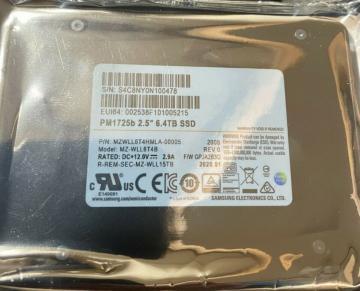 MZWLL6T4HMLA-00005 Ổ cứng SSD 6.4TB Samsung PM1725b 2.5 NVMe PCIe3 x4
