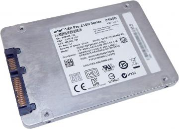 Ổ cứng SSD 180GB Intel Pro 2500 Series 2.5in SATA 6Gb/s, 16nm, MLC