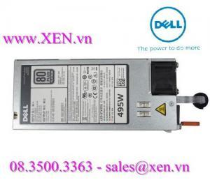 Bộ nguồn Dell 495W Platinum for PowerEdge R420/ R720