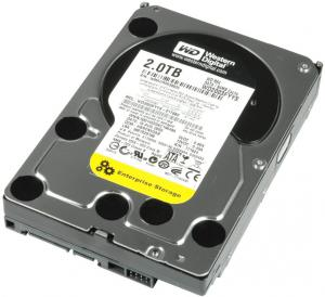 1TB WD RE4 SATA 3Gbps 7.2K 3.5